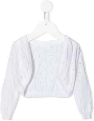 Lapin House Long Sleeve Open Front Cardigan