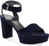 Stuart Weitzman 'Real Deal' Platform Sandal (Women)