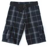 Wrangler Originals Cargo Short - Black Plaid 10