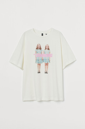H&M Oversized Printed T-shirt