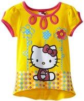 Hello Kitty Girls 2-6X Yellow Tunic