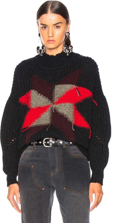 Hanoi Sweater in Black   FWRD