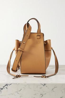 Loewe Hammock Mini Leather Shoulder Bag - Tan