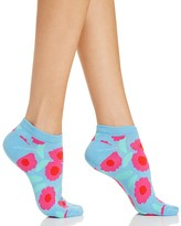 Kate Spade Tangier Floral No-Show Socks