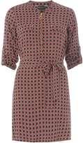 Dorothy Perkins Multi Coloured Geometric Spot Shirt Dress
