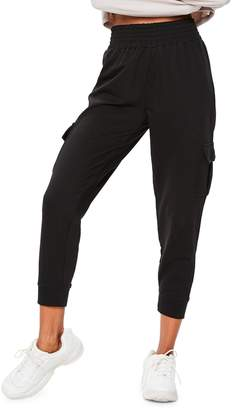 Missguided Straight Cropped Jogger Pants
