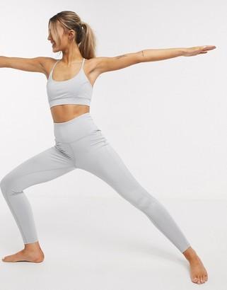 South Beach Yoga leggings in grey