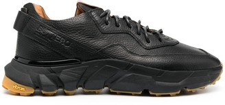 Buttero Chunky Sole Lace-Up Sneakers