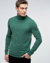 Esprit Roll Neck Cashmere Mix Sweater