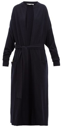 Extreme Cashmere - No.105 Big Coat Stretch-cashmere Cardigan - Navy