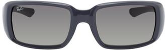 Ray-Ban Grey Rectangular Sunglasses