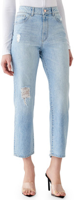 DL1961 Jerry High-Rise Vintage Straight Jeans