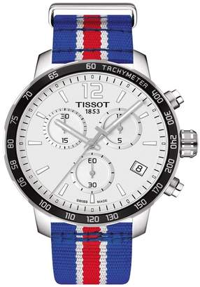 Tissot Men's Quickster Chronograph NBA Philadelphia 76ers Watch, 42mm