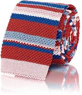 Etro MEN'S STRIPED CROCHET-KNIT NECKTIE