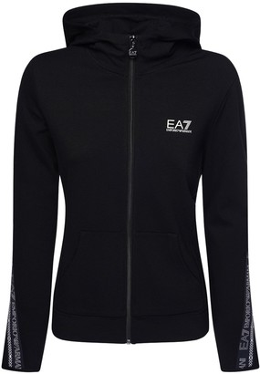 EA7 Emporio Armani Logo Sweatshirt Hoodie & Sweatpants