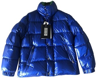 Valextra Moncler Genius Moncler n2 1952 + Blue Polyester Coats