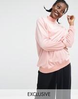 Monki EXCLUSIVE Velvet Oversized Sweater