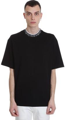 Acne Studios Extorr T-shirt In Black Viscose
