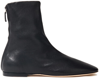 Victoria Beckham Leather Ankle Boots