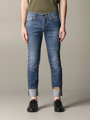 Tela Genova Stretch Denim Canvas Jeans