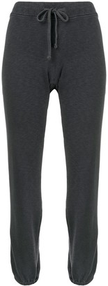 James Perse drawstring waist track pants