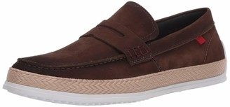 Marc Joseph New York Men's Leather Luxury Deck Shoe Penny Rope Detail Boat