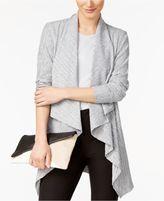 Alfani Draped Knit Cardigan, Created for Macy's