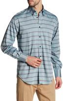 Thomas Dean Striped Long Sleeve Shirt