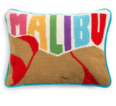 Jonathan Adler Malibu Needlepoint Throw Pillow