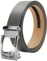 XIANGUO Men's Automatic Buckle Leather Belts 35mm Wide