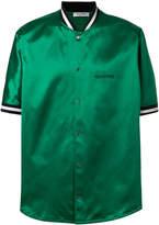 Valentino satin bomber shirt