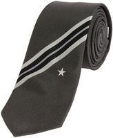 Givenchy Star And Stripes Tie