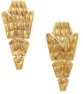 Ralph Lauren Gold-Plated Tiered Earrings