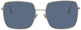Christian Dior Gold and Blue DiorStellaire1xS Sunglasses