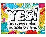 Trend Yes! You Can Color Outside by Enterprises Inc