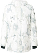 Rossignol camouflage print hooded jacket