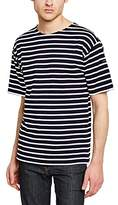 Armor Lux Men's Striped Short sleeve T-Shirt - Blue -