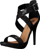 Michael Antonio Women's Luckey-Pat Dress Sandal