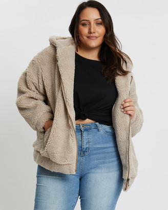 You & All Hooded Teddy Coat