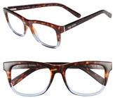 Bobbi Brown Women's 'The Bedford' 52Mm Reading Glasses - Black/ Pink Crystal