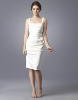 Xscape Ruched Empire-Waist Sheath Dress