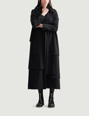 Symetria Reverberate cotton-blend trench coat