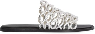 Giannico 10mm Sofia Metallic Leather Sandals