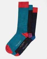 Ted Baker Three-pack sock set