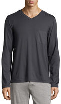 Hanro Harrison Long-Sleeve V-Neck Tee