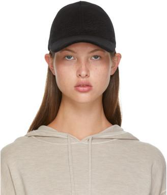 Max Mara Black Wool Amiche Cap