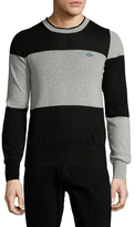 Vivienne Westwood Colorblocked Crewneck Sweater