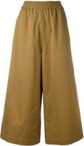 Ports 1961 wide leg trousers - women - Cotton - 40