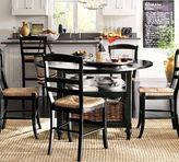 Pottery Barn Shayne Drop-Leaf Kitchen Table, Black