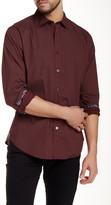 Ganesh Diamond Printed Long Sleeve Slim Fit Shirt